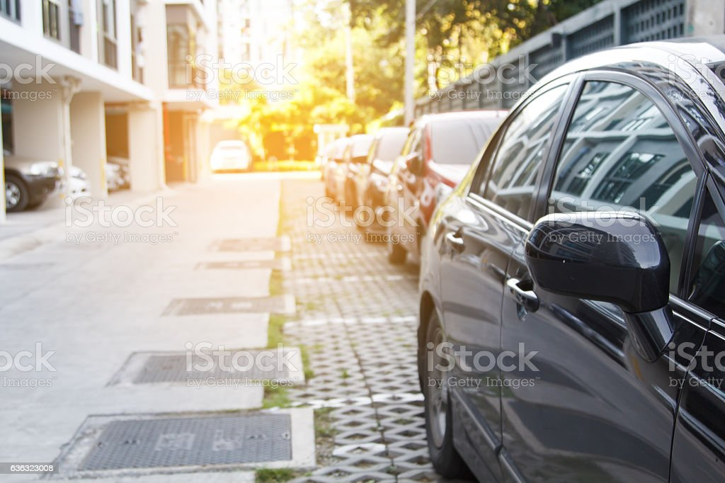 Parkplatz parken  – Foto