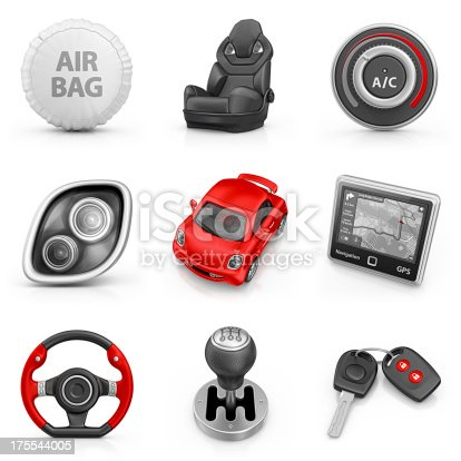 istock car parts icons 175544005