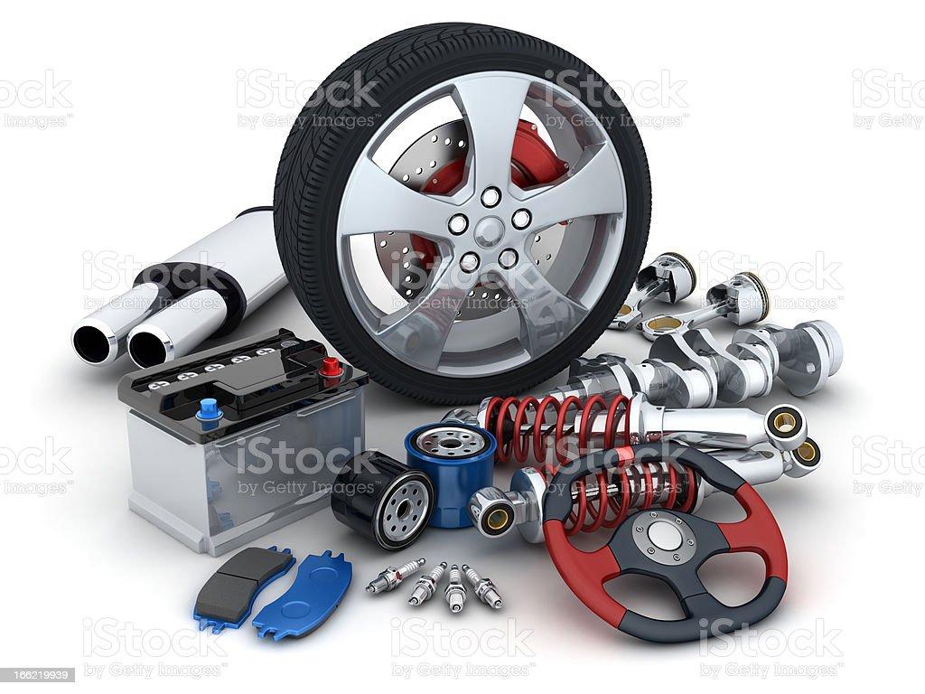 Auto parts – Foto