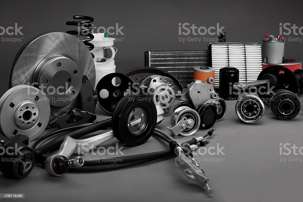 Auto parts - Lizenzfrei 2015 Stock-Foto