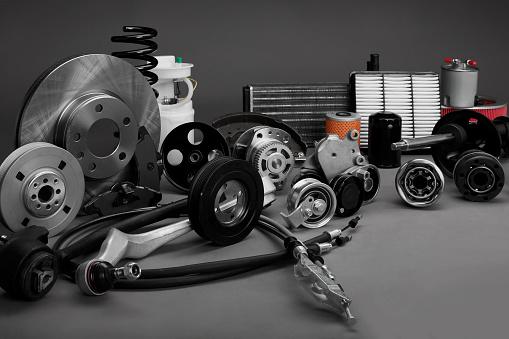 Auto Parts Stockfoto und mehr Bilder von 2015