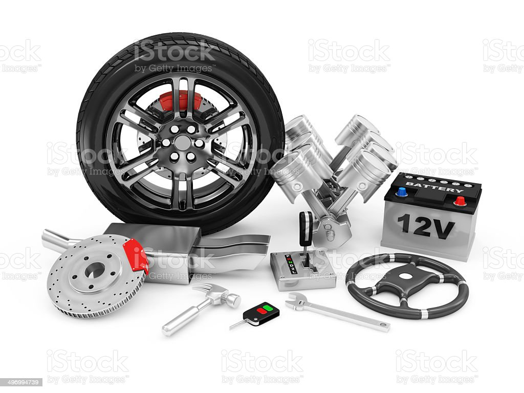 Car Parts stock photo