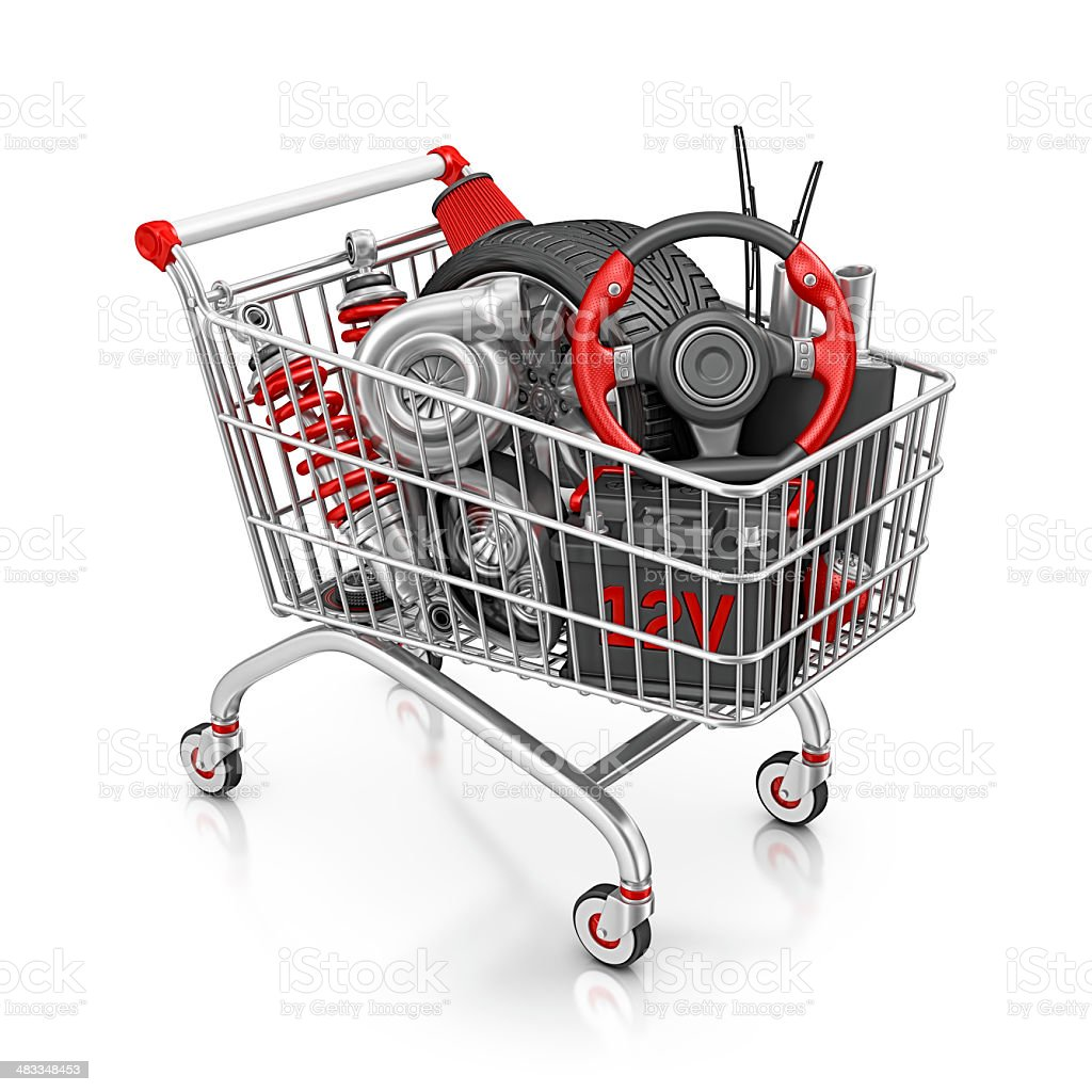 Car Parts Shopping Stock Photo & More Pictures Of Air