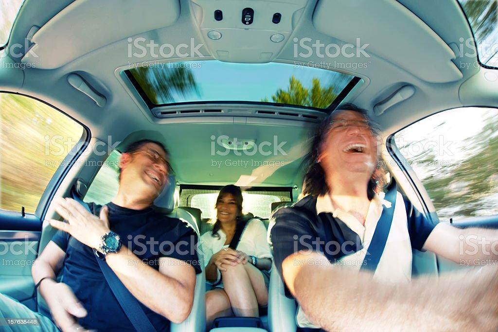 car passengers royalty-free stock photo