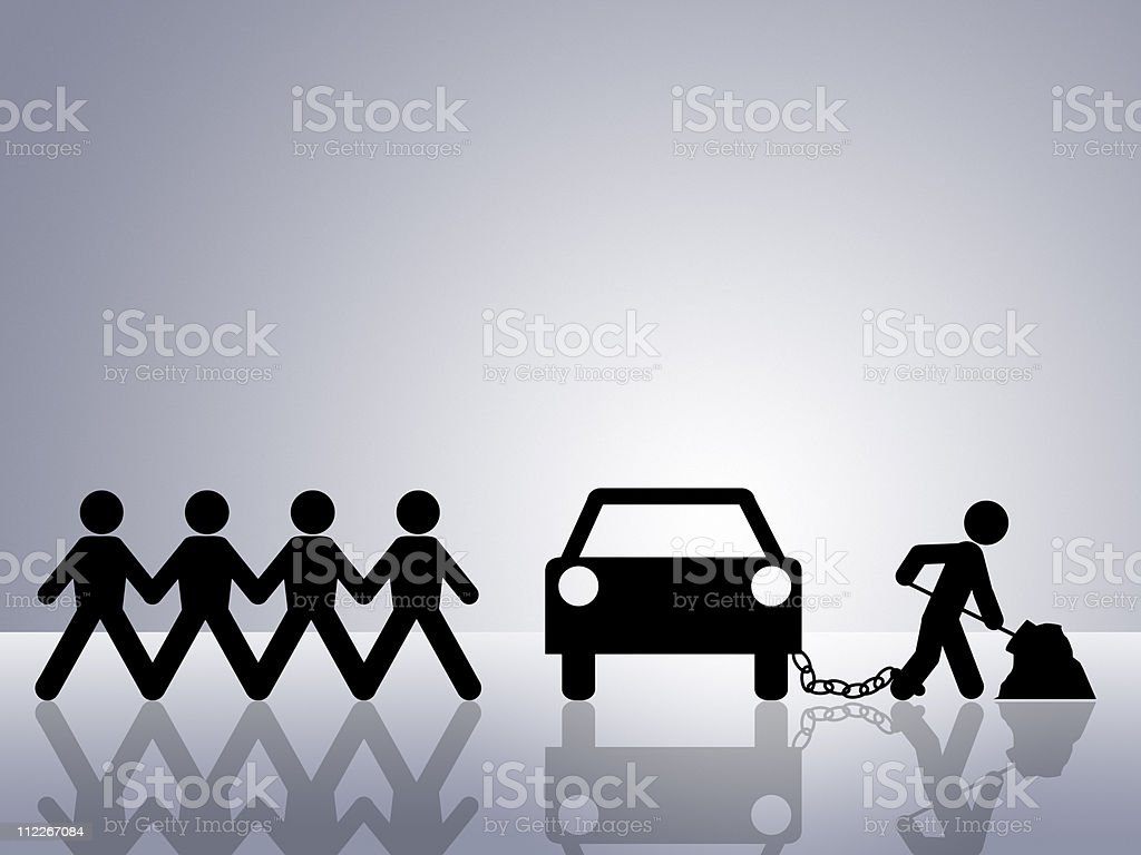 car payment royalty-free stock photo