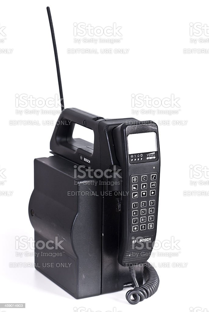 car phone by Bosch stock photo