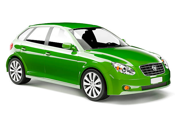 noleggio auto - auto a combustibile alternativo foto e immagini stock