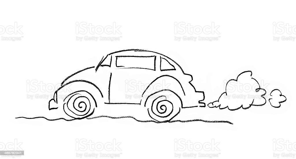 Dem Auto – Foto