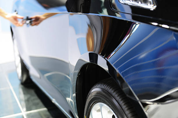 car Door car - detail of a luxury car luxury car stock pictures, royalty-free photos & images