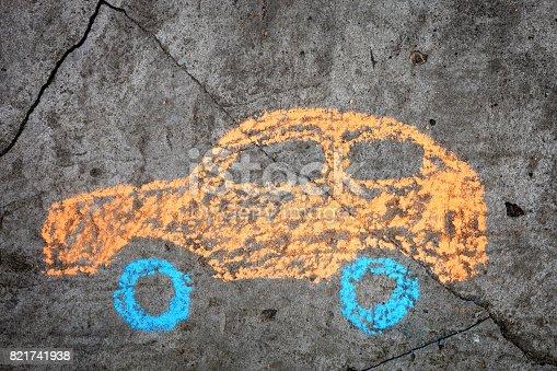 istock Car 821741938