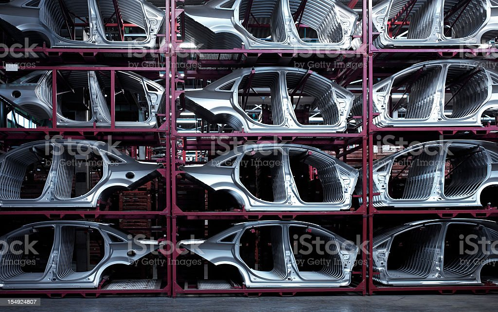 Car Plant stock photo