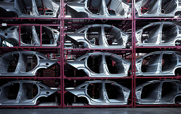 Car Plant Car industry. vehicle part stock pictures, royalty-free photos & images