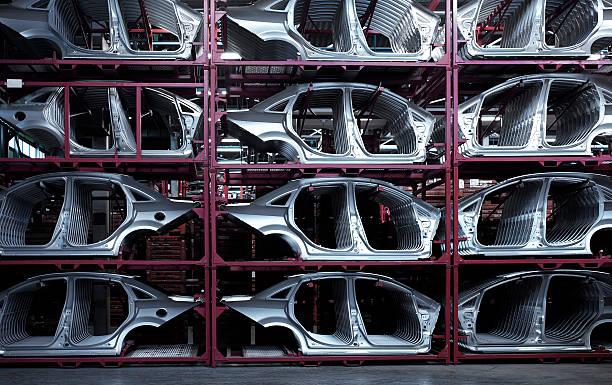 Car Plant stock photo