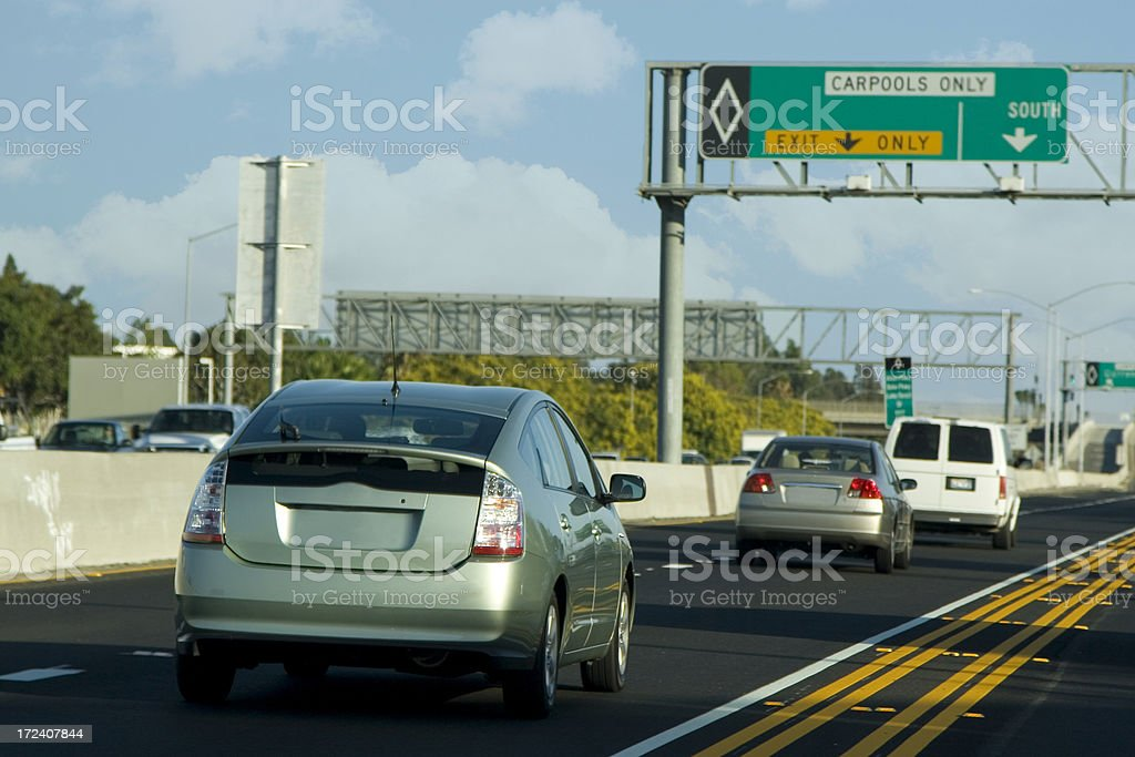 car pool stock photo