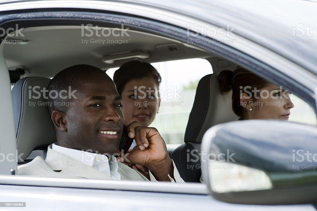 Car Pooling royalty-free stock photo