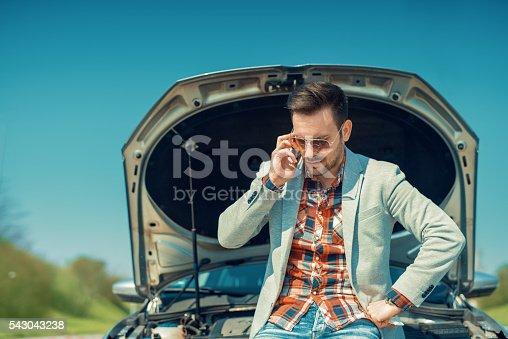 istock Car problem 543043238
