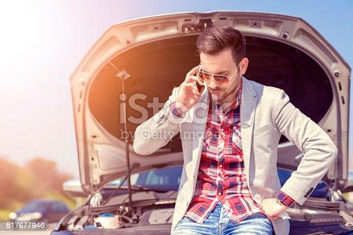 istock Car problems 517677946