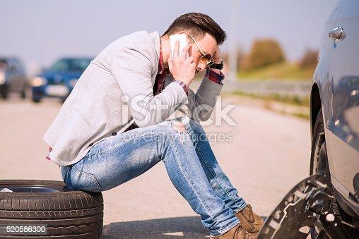 istock Car problems 520586300