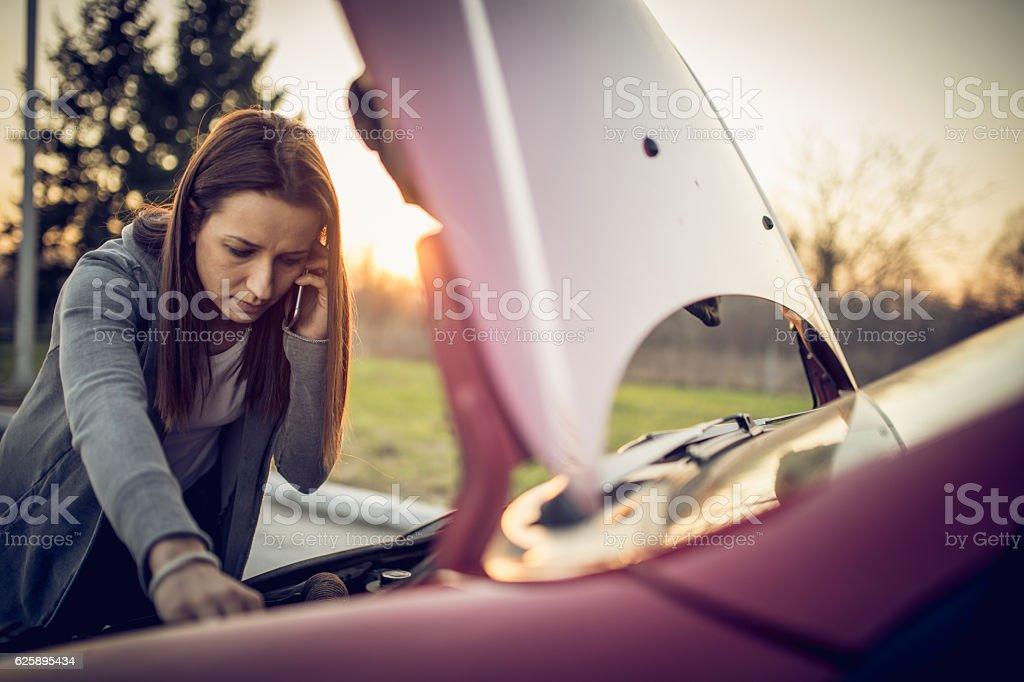Car problems foto