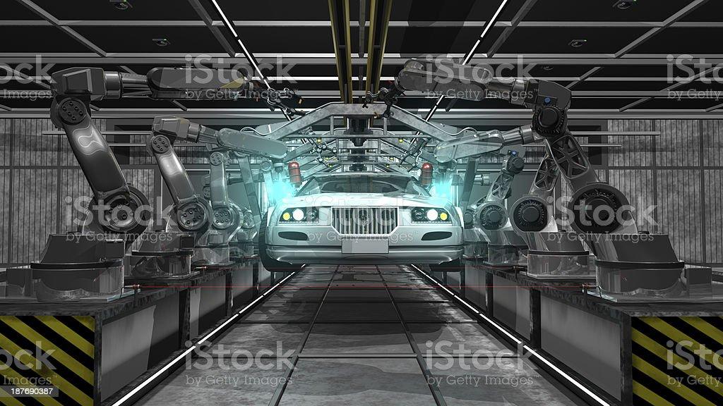 - Produktion Industrie - Lizenzfrei Ausrüstung und Geräte Stock-Foto