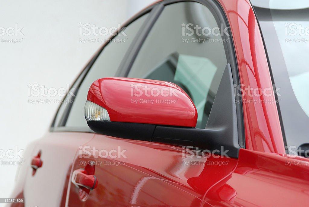 Car Profile stock photo