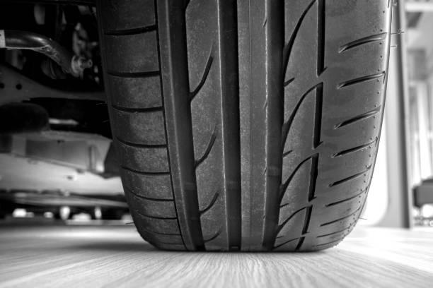 Auto-Reifen-profil – Foto