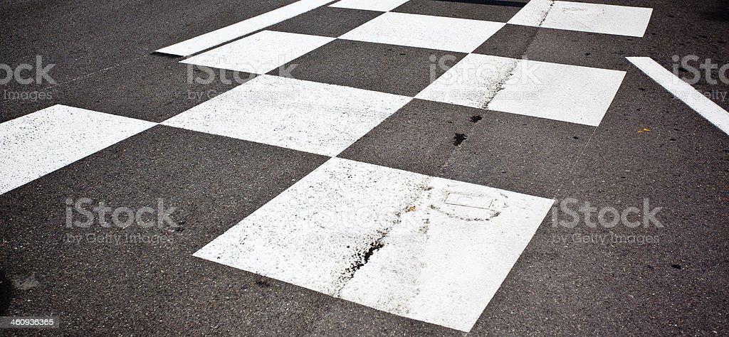 Auto Rennen asphalt – Foto