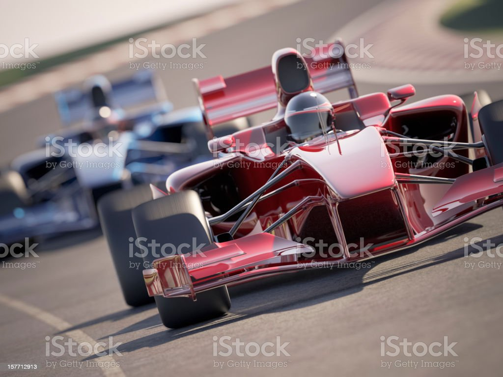 Car Race stock photo