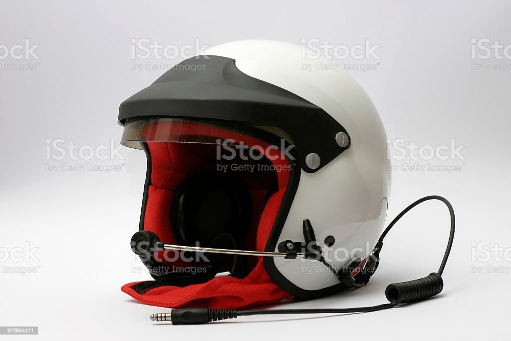 car racing helmet royalty-free stock photo