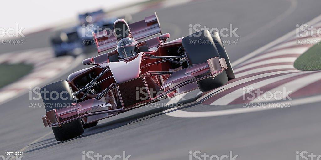 Car-Rennen - Lizenzfrei Aerodynamisch Stock-Foto