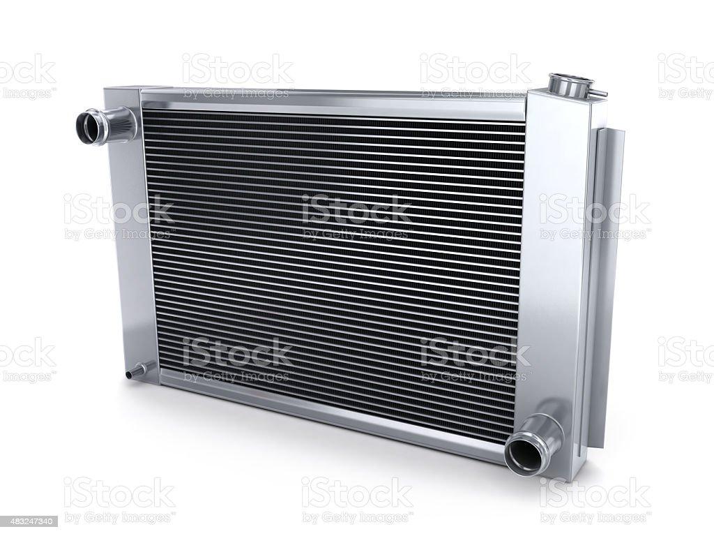 Car radiator royalty-free stock photo