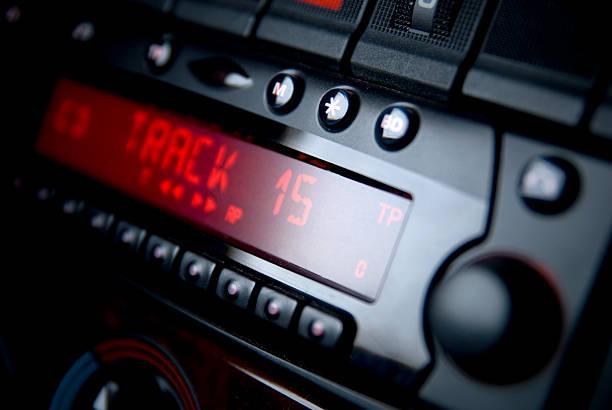 Car Radio stock photo