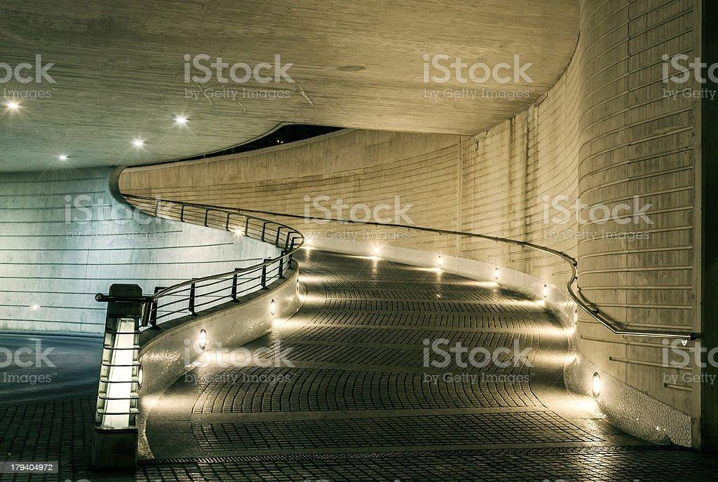 Auto rampa illuminazione artificiale fotografie stock e altre