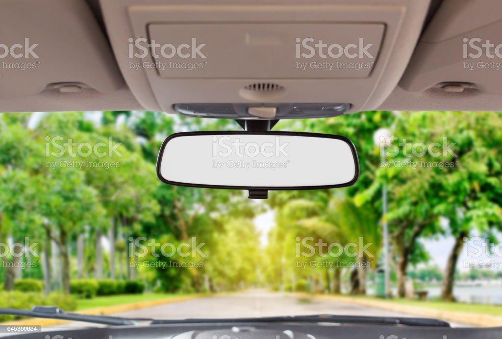 Espelho retrovisor de  - foto de acervo