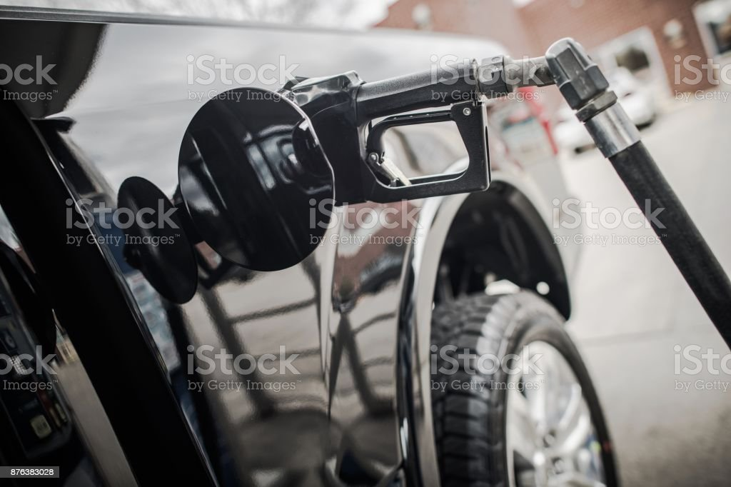 Car Refueling Gas Prices stock photo