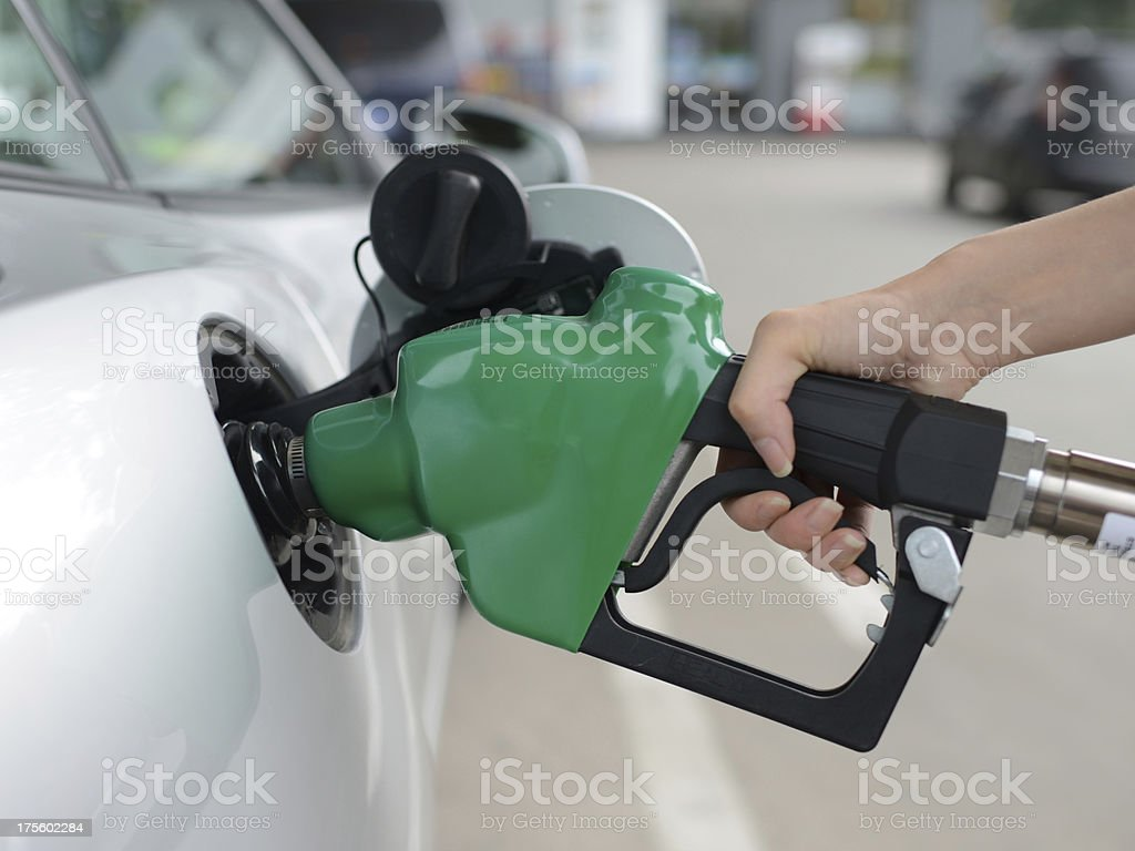 Car Refueling - XXXXXLarge stock photo