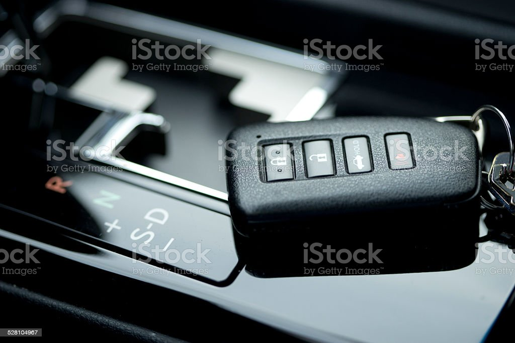 Car remote stock photo