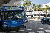 istock Car rental bus 1070333462