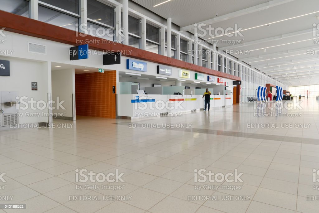 Car rental customer service . stock photo
