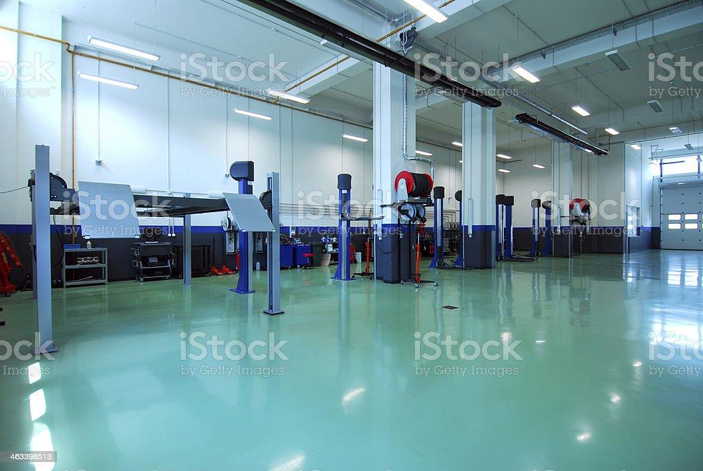 Auto repair garage, autoservice – Foto