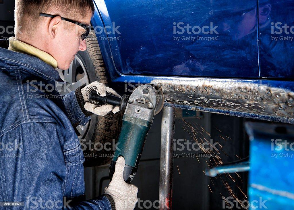 car repair, stock photo