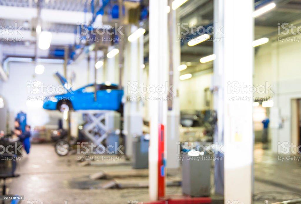 Car repair service stock photo
