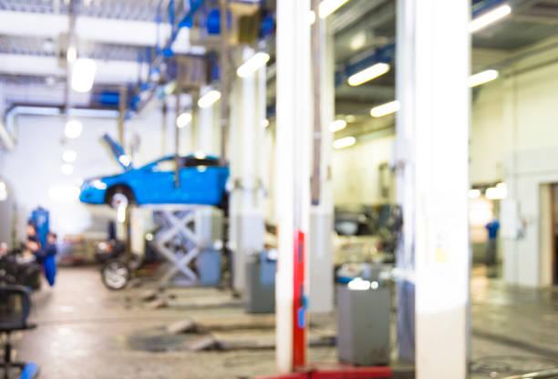 service de réparation de voiture - garagiste photos et images de collection
