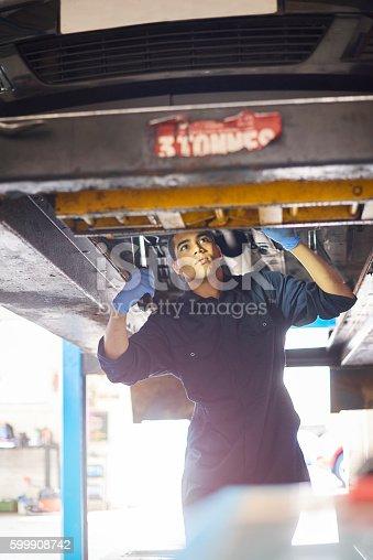 599909112 istock photo Car repairs 599908742