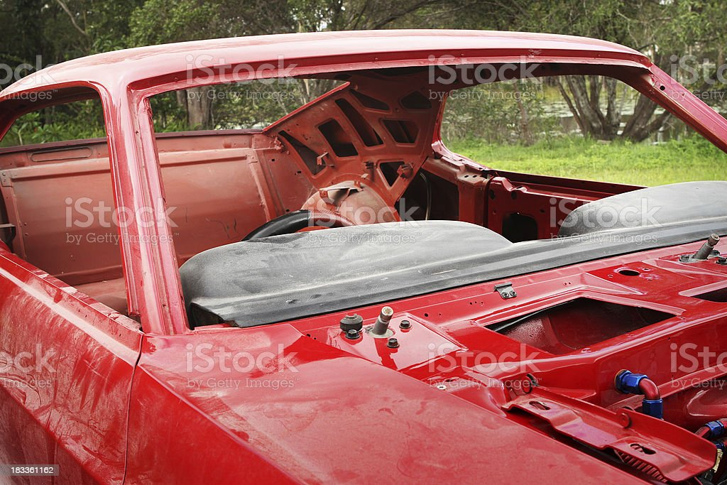 Car Restoration. royalty-free stock photo