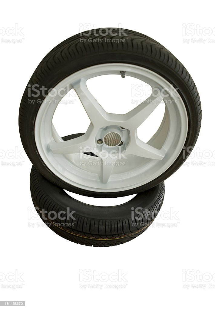 Car Rim Series royalty-free stock photo