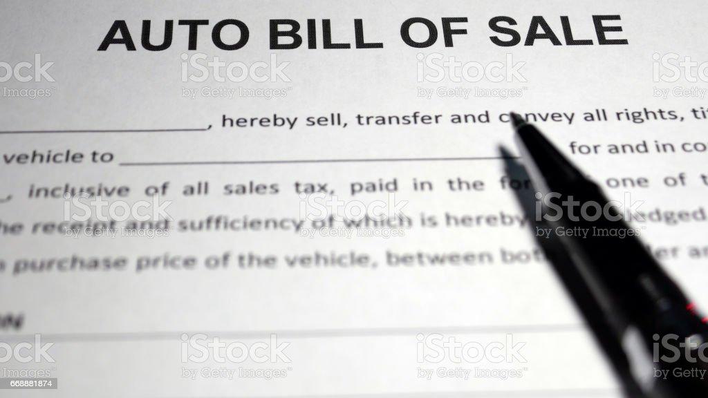 car sale agreement stock photo istock
