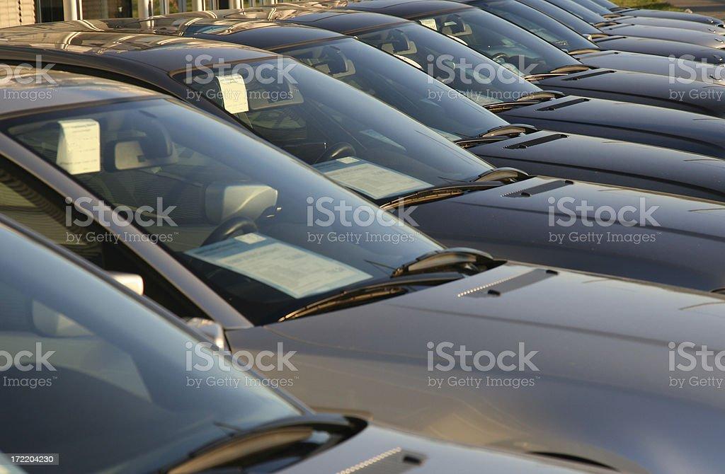 Car Sale royalty-free stock photo