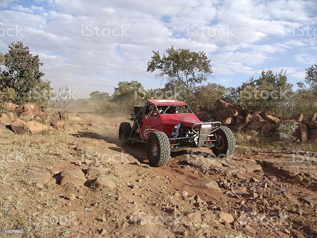 car sandmaster racing royalty-free stock photo