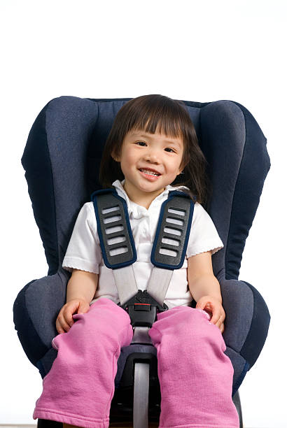 Car Seat 001 stock photo
